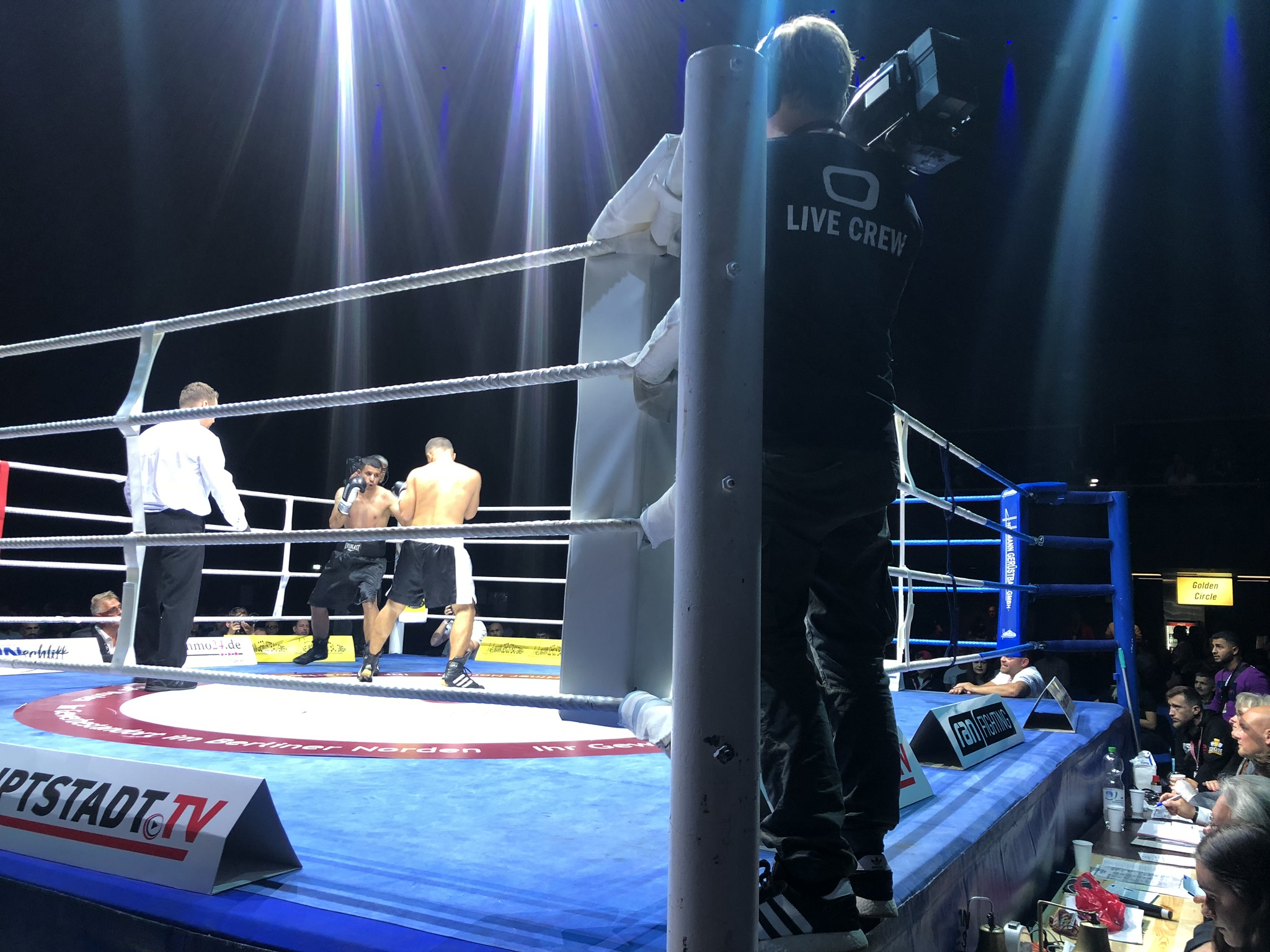 IBO Boxing Night in Berlin